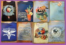 Caribbean Men's 100% Cotton L XL T-Shirts Pick From Several Fun Styles  NWT $30