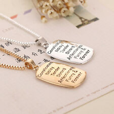 Cute The Love Between A Mother and Daughter is Relationship 2 platings Necklace