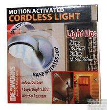 Motion Sensor LED Lamp for Indoor and Outdoor Use
