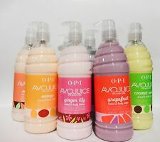 OPI Avojuice Hand & Body Lotion Variety Assorted Choice 20oz/600mL
