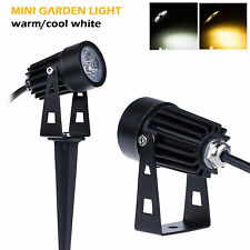 New 3W Mini Waterproof Outdoor LED Landscape Flood Light Garden Wall Yard Lamp
