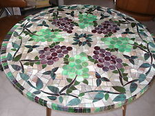 """Vinyl Fitted Round Tablecloth UpTo 48"""" Elastic edge  (VARIOUS PRINTS available)"""