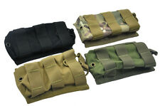 Tactical MOLLE Open Top Single One Rilfe 5.56 .223 AR Magazine Mag Pouch OD