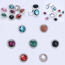 Fashion Wholesale snap chunk Floating Locket charms Women bracelet Ring Jewelry