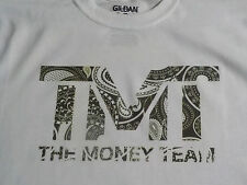 The Money Team boxing T SHIRT Floyd Mayweather TMT white