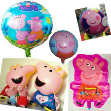 All Kind Of Aluminum Peppa Pig Foil Helium Balloon Birthday Party Decoration