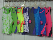 NEW girls Danskin Now Racerback Tank Tops Choice of size & color FREE SHIPPING