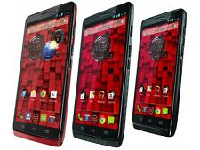 "5"" Motorola Droid Ultra XT1080 16GB Black/Red (Verizon) Android 4G Smartphone"