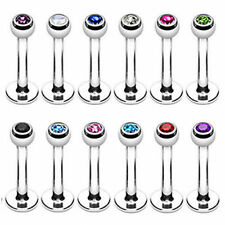 Surgical Steel Labret  Monroe Lip Bar Ring BUY 1 GET 1 FREE (See Description)