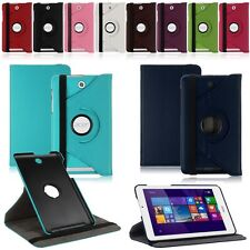 360 Rotating Folio PU Leather Case Cover Stand For Acer Iconia Tab 8 W1-810
