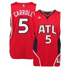 2014-15 DaMarre Carroll ADIDAS Atlanta Hawks Swingman (Red) Jersey Men's