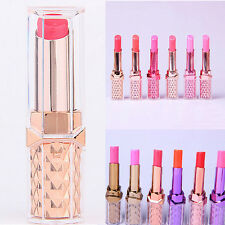 Nude 12 Colors Beauty Lipstick Cosmetic Makeup Long Lasting Bright Lip Stick New