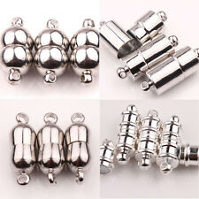 5/10Pcs Golden/Silver Plated Magnetic Clasps Craft Connectors Jewelry Findings