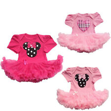 Toddler Baby Infant Clothes Dress Girls Party Outfits Tutus Newborn Romper Pants