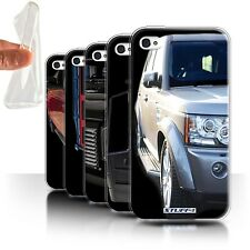 STUFF4 Gel/TPU Case/Cover for Apple iPhone 4/4S/4x4 Land Rover