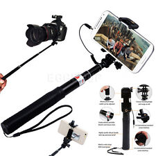 6 in 1 Easy Use Wired Shutter Selfie Monopod Stick For Various Cell Phone Camera