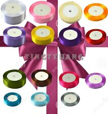 25 yards satin ribbon wedding craft sewing decorations many color many width