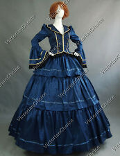 Civil War Victorian Gown Period Dress Reenactment Clothing Theatre Steampunk 188