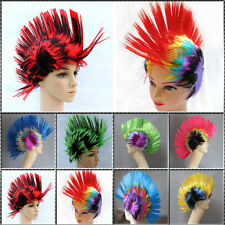 Punk Rainbow Candy Color Hair Wig Wigs Costume For Carnival Cosplay Party