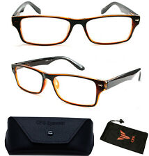 Women Men Designer Fashion Reading Glasses Square Medium Prad Reader Wayfarers