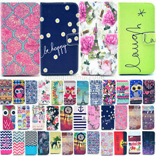 For Samsung Galaxy S6 edge S6 S5 Luxury Painted Magnetic Money Wallet Cover Case