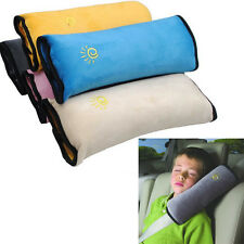 Kid Safety Car Seat Belt Strap Harness Shoulder Pad Pillow Child Cushion Covers