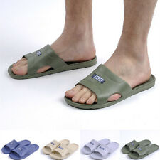 New Men's Casual Home Beach Slip On Sandals Flip Flop Shower Shoes Slippers Free