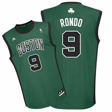 2014-15 Rajon Rondo ADIDAS Boston Celtics Alternate Green Replica Jersey Men's
