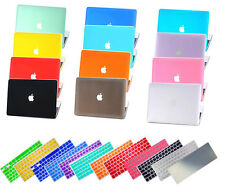 "Rubberized Hard Shell&EU/US Keyboard Cover for Macbook Pro 13/15"" Air 11/13""inch"