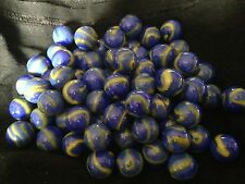 HOM Glass Marbles 14mm VanGogh Collectors or traditional game solitair