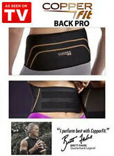 Copper Fit Back Pro As Seen On TV Compression Lower Back Support Belt Lumbar NEW