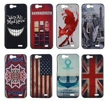 New Painted Various Pattern PC Hard Back Skin Case Cover for Huawei Ascend G7