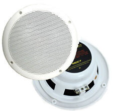 "2) New PYRAMID MDC7 6.5"" 240W Dual Cone Marine/Boat Outdoor Speakers Waterproof"