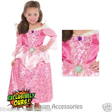 KK5 Sleeping Beauty Princess Aurora Girl Fairytale Book Week Fancy Dress Costume