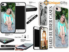 Personalised Phone Case/Cover for iPhone Any Pic Print Best Gift