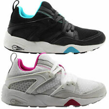 Puma Cream Blaze Of Glory Mesh  Evolution Mens Womens Trainers 357464