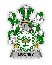 Mooney Irish Crest Vinyl Die-cut Decal / Sticker ** 4 Sizes **