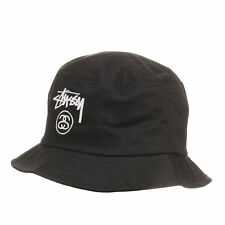 Stüssy - Stock Lock Bucket Hat Black Hut Mütze