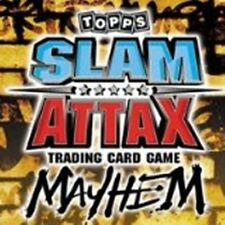 WWE Slam Attax Mayhem Topps RANDOM BLOCKS OF  BASE CARDS  CHOOSE QUANTITY