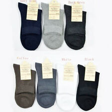 1/2/3/6/12Pair Mens Cotton Socks Low Cut Ankle Socks Crew Sock One Size Socks