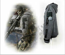 Free Shipping CALL OF DUTY MODERN WARFARE2 Task Force 141Ghost Zip up Jacket Ho