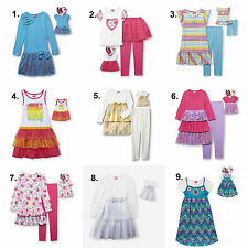 4-12 Matching American Girl Doll Clothes Outfit and Set Dress Dollie & Me What a