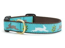 Any Size - Up Country - MADE IN USA - Design Dog Puppy Collar - Rabbit Run