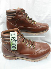 MENS TROOP  BROWN ANKLE , LACE UP WALKING/TRAIL  BOOTS