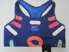 NIKE Women's Dri-FIT Victory Compression Loops and Lines Sports Bra
