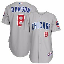 2015 Andre Dawson Chicago Cubs Authentic On-field Cool Base Grey Road Jersey