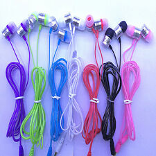 3.5mm Stereo In-Ear Headphone Earphones Earbuds For iPhone iPod MP3/4 Player PC