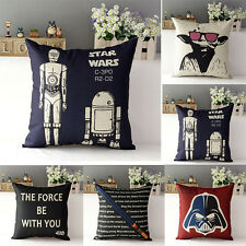 Star Wars Design Sofa Car Home Decor Throw Pillow Case Square Cushion Cover 17''