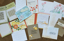 Stampin Up, Sizzix, Cuttlebug, Couture, Paper Studio Embossing Folders