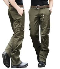 Tactical Military Mens Casual Trousers New Army Camo Cotton Cargo Combat Pants